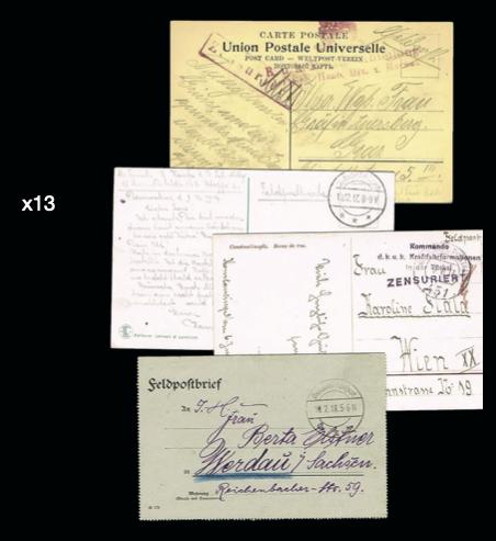 Lot 13 - world war i  -  House of Zion Public Auction #107