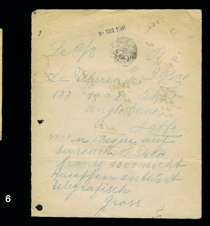 Lot 6 - forerunners  -  House of Zion Public Auction #107
