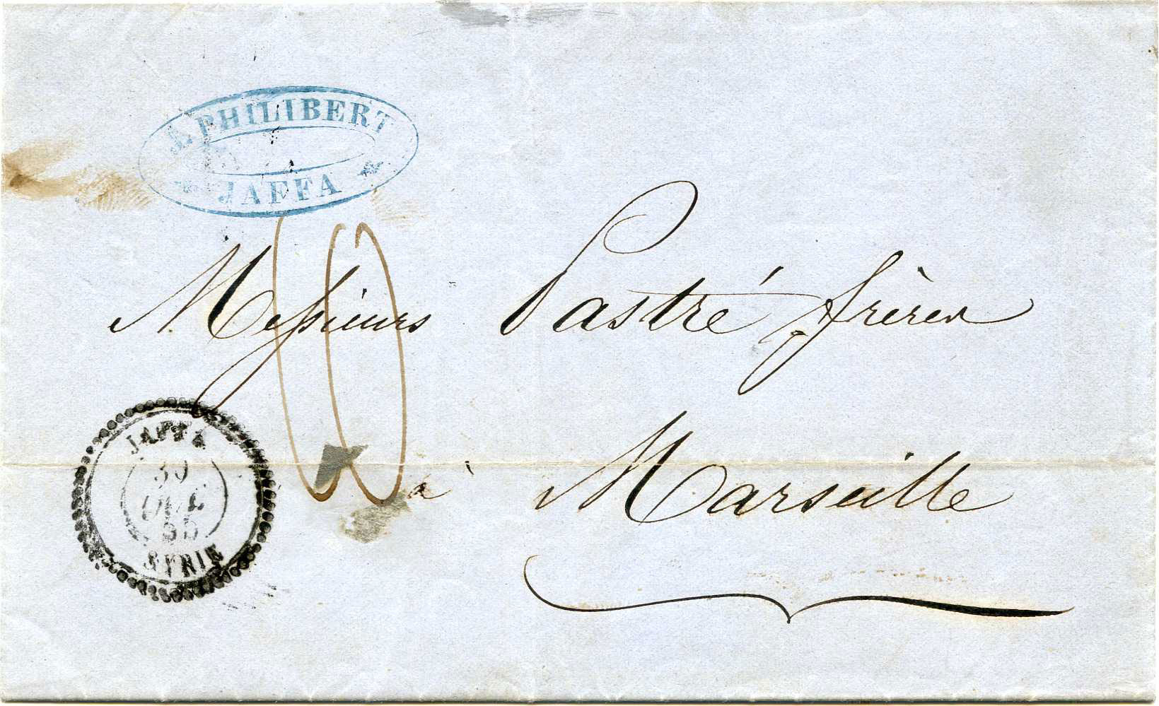 Lot 3 - Holyland - Forerunners  -  JF-B Philatelie Specialized sale of stamps and letters from Israel