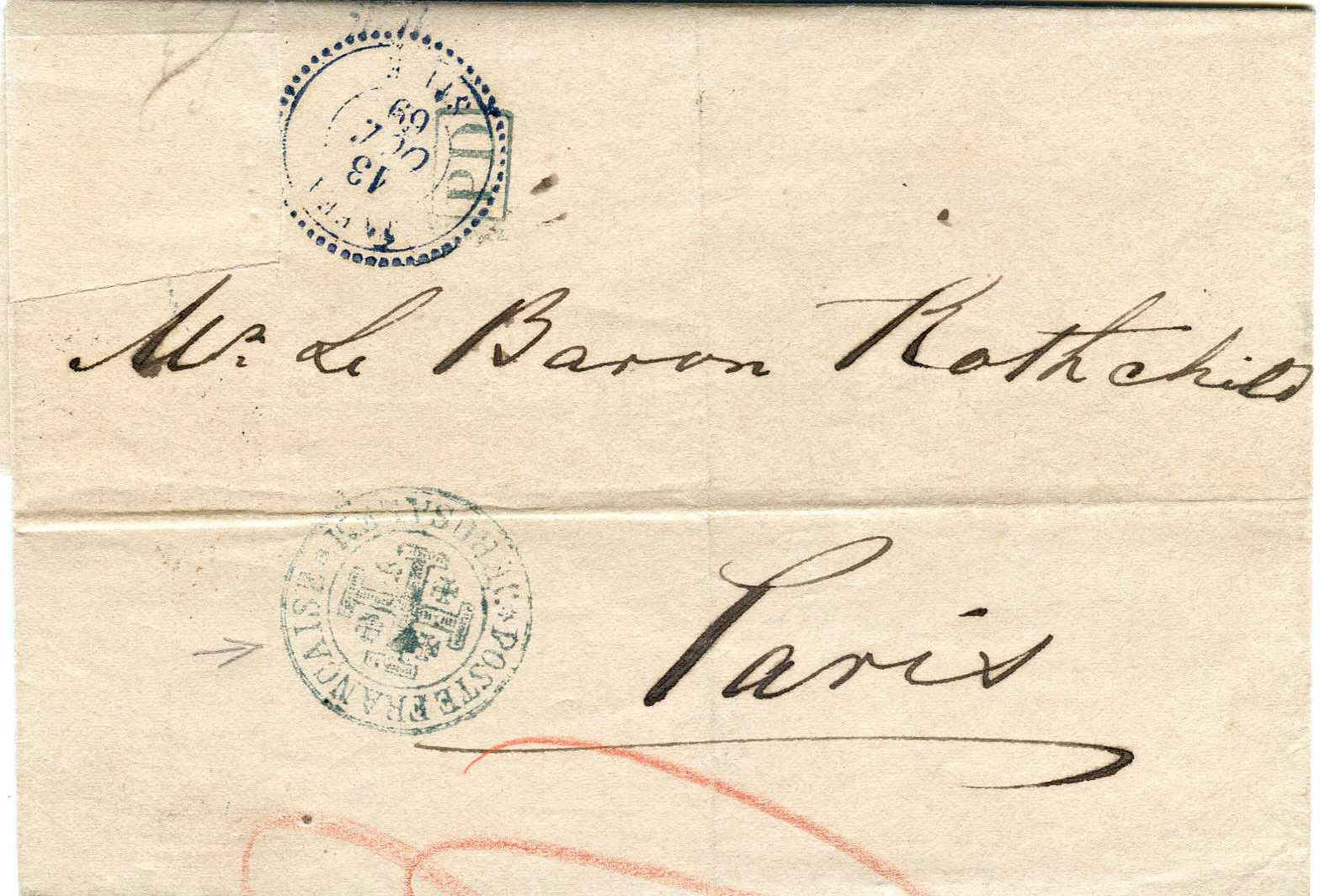 Lot 8 - Holyland - Forerunners  -  JF-B Philatelie Specialized sale of stamps and letters from Israel