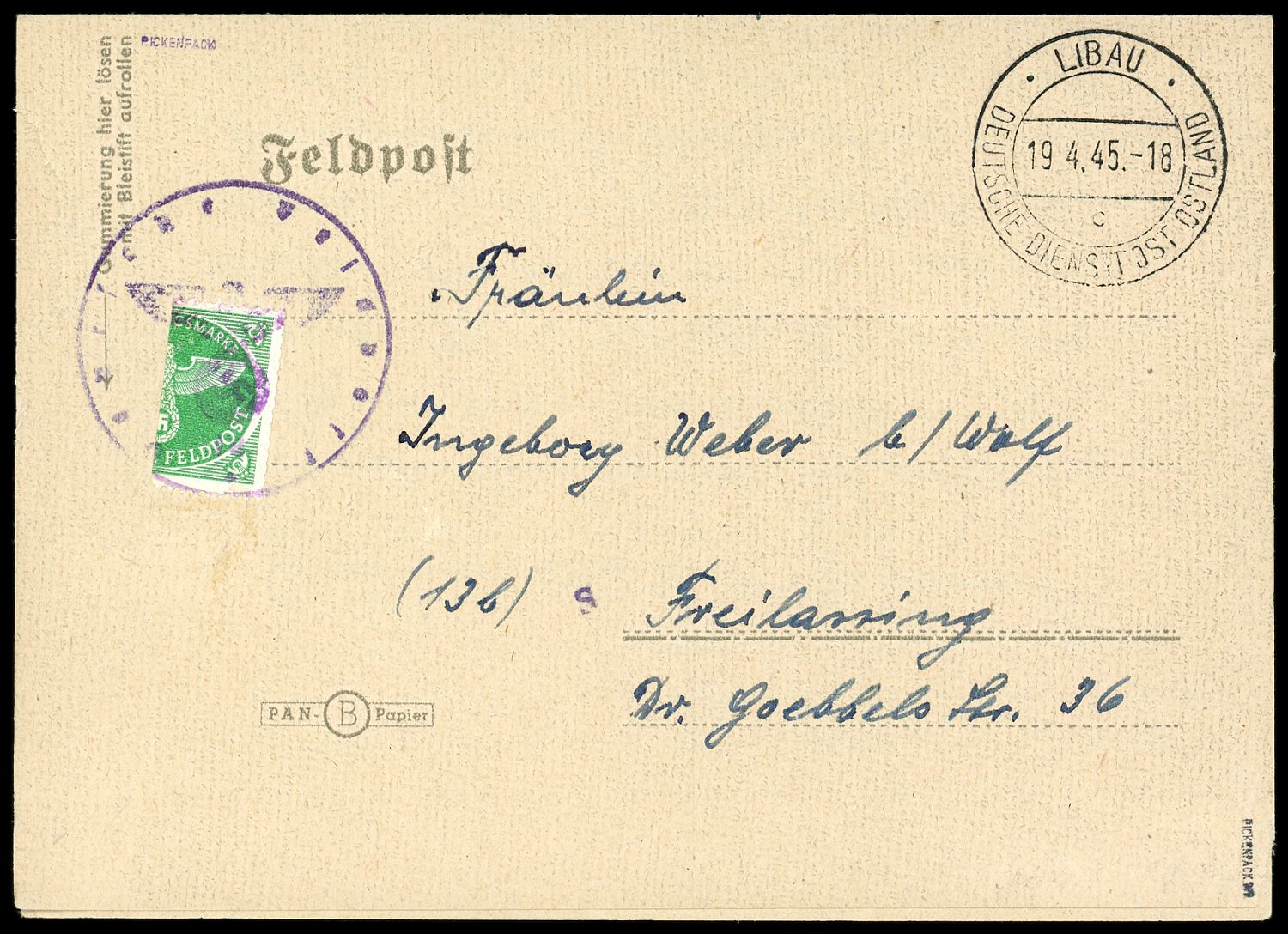 Lot 11110 - feldpostmarken  -  Auktionshaus Klüttermann GmbH Auction number 1