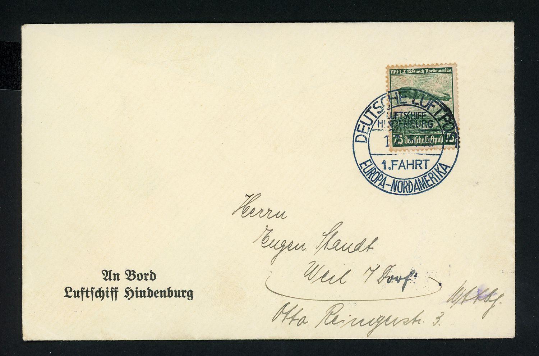 Lot 11302 - zeppelinpost deutschland  -  Auktionshaus Klüttermann GmbH Auction number 1