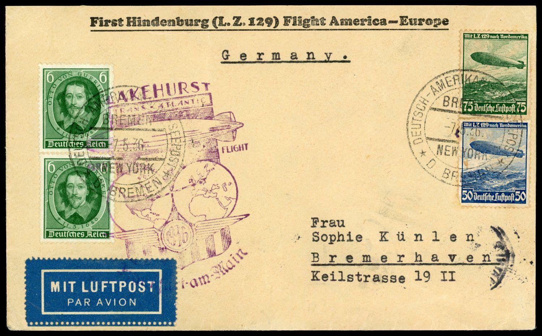 Lot 11303 - zeppelinpost deutschland  -  Auktionshaus Klüttermann GmbH Auction number 1