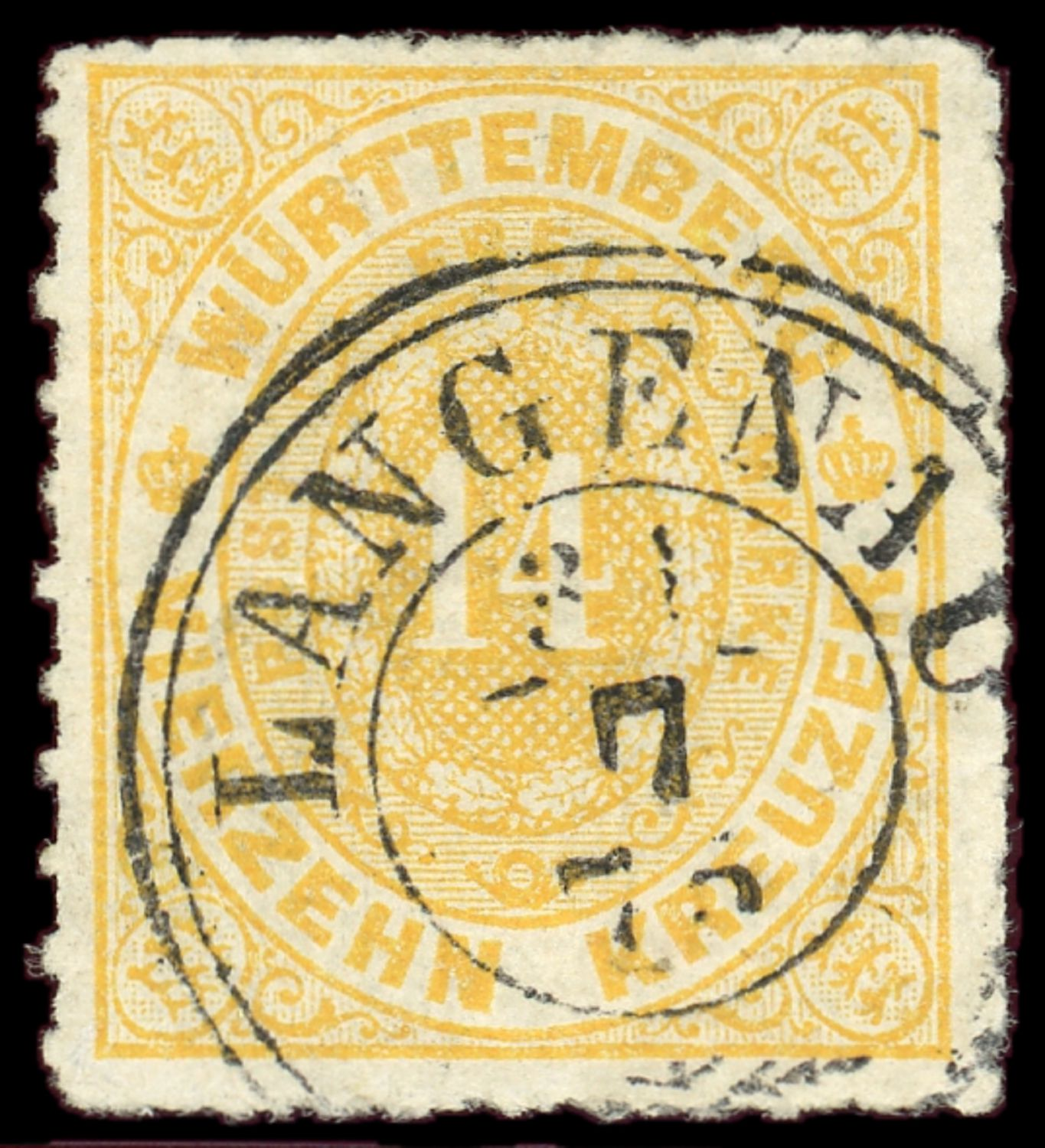 Lot 1910 - Wurttemberg  -  Auktionshaus Klüttermann GmbH Auction number 1