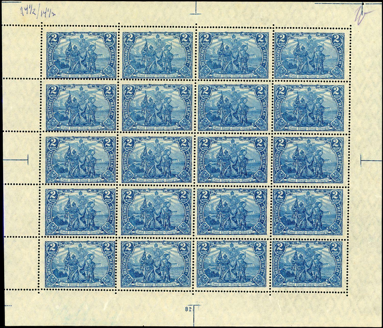 Lot 2720 - Deutsches Reich  -  Auktionshaus Klüttermann GmbH Auction number 1