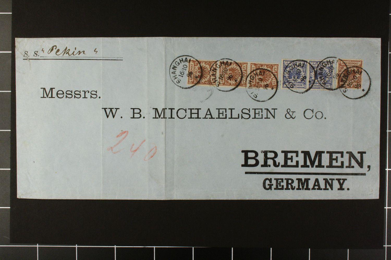 Lot 4948 - deutsche post in china - vorläufer  -  Auktionshaus Klüttermann GmbH Auction number 1