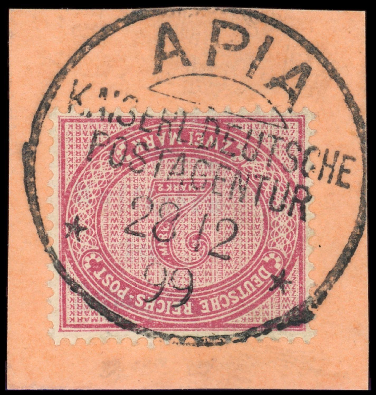 Lot 5985 - samoa - vorläufer  -  Auktionshaus Klüttermann GmbH Auction number 1