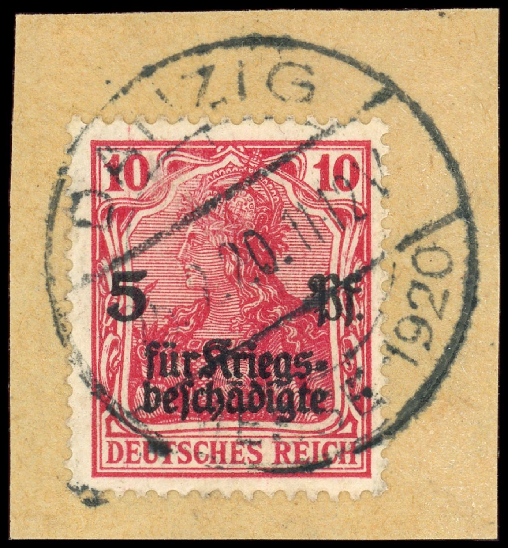 Lot 6172 - DANZIG Vorläufer Deutsches Reich  -  Auktionshaus Klüttermann GmbH Auction number 1