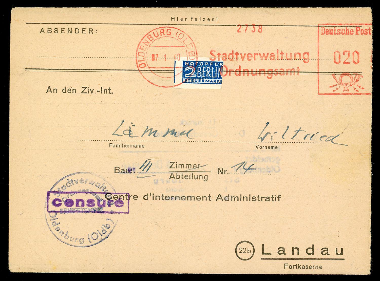 Lot 6949 - französische zone besonderheiten  -  Auktionshaus Klüttermann GmbH Auction number 1