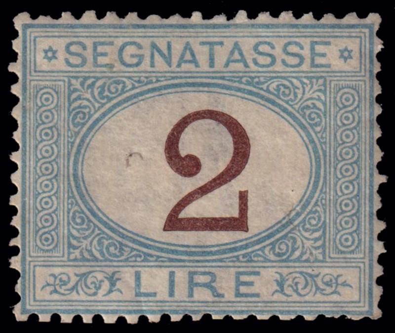 Lot 144 - ITALIA REGNO, SEGNATASSE  -  Laser Invest S.R.L. LIVE PHILATELIC AUCTION #176