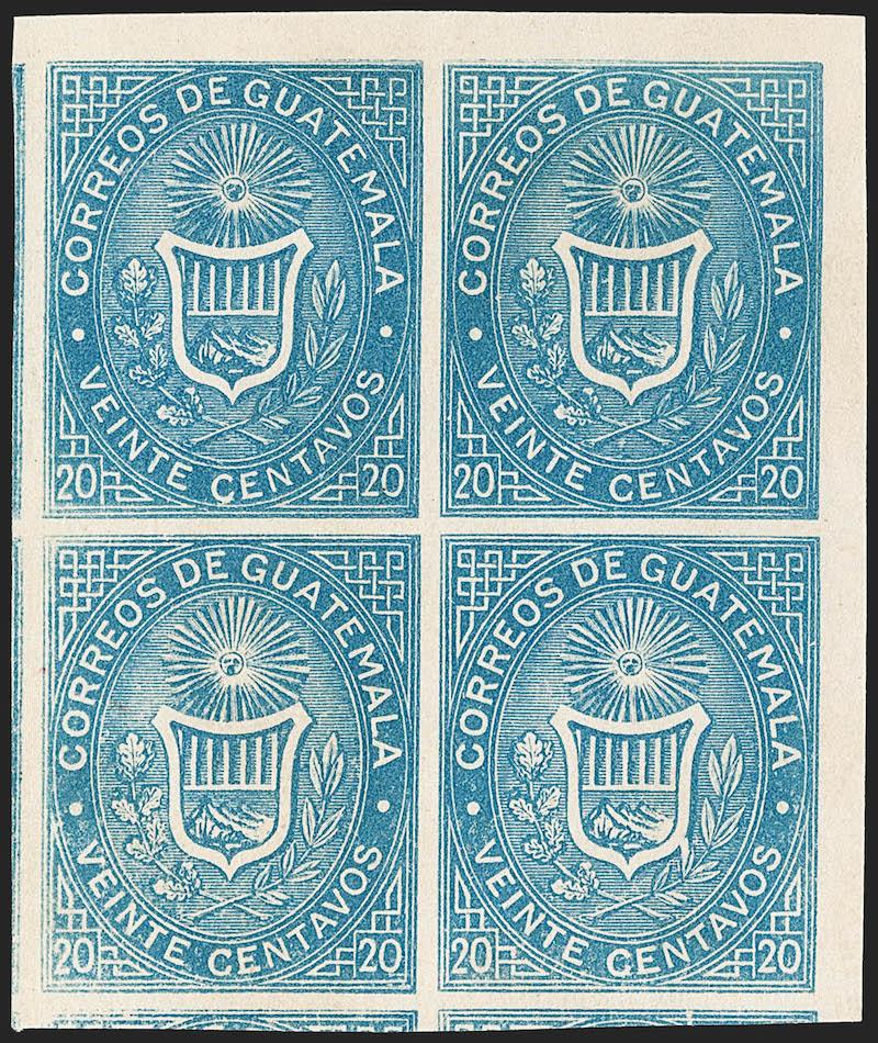 Lot 305 - latin america latin america -  Robert A. Siegel International Sale 1229 Worldwide Stamps and Postal History
