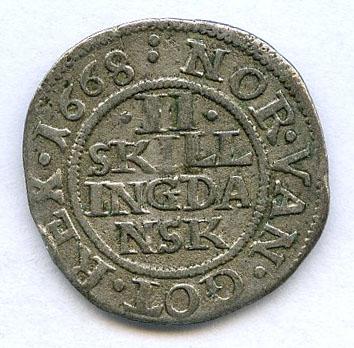 Lot 15 - Frederik III (1648-1670)  -  Skanfil Auksjoner AS  Public auction 211