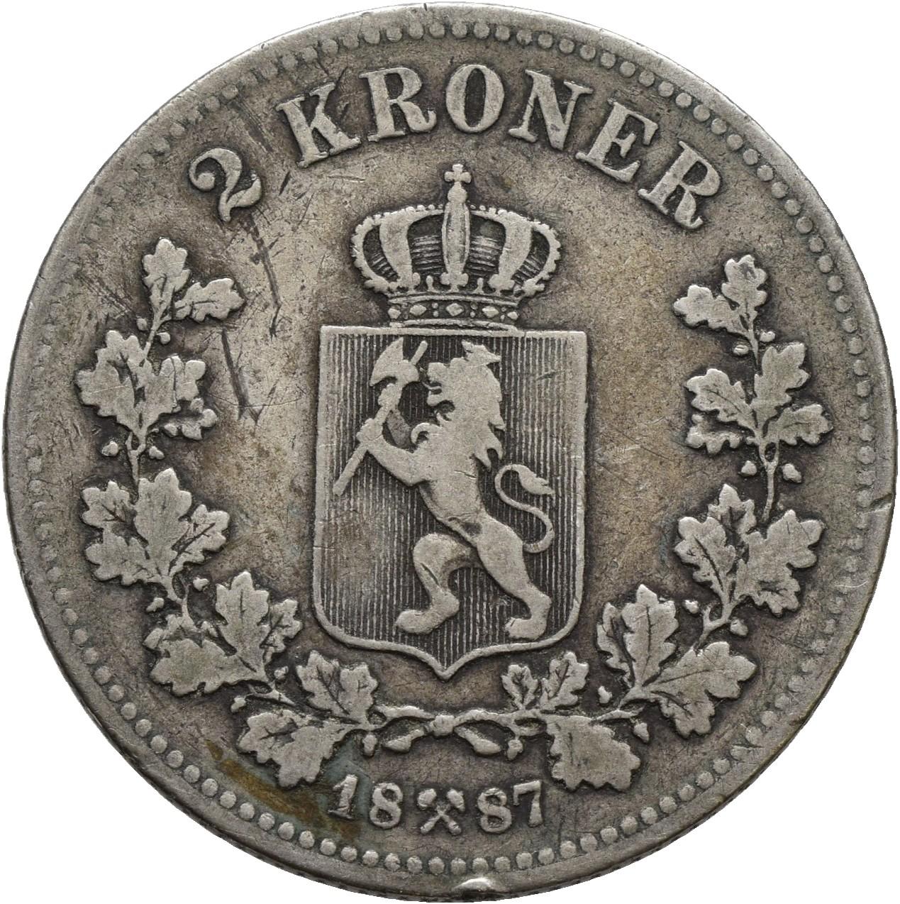 Lot 176 - 2-kroner  -  Skanfil Auksjoner AS  Public auction 211