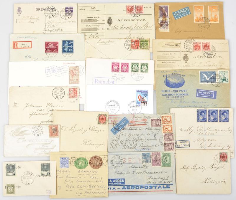 Lot 1968 - Danmark, samlinger og lotter (AFA)  -  Skanfil Auksjoner AS  Public auction 211