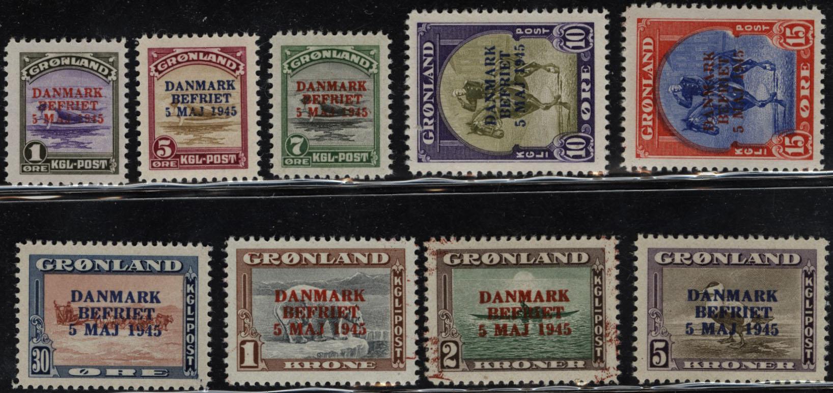 Lot 1989 - Grønland Enkeltmerker  -  Skanfil Auksjoner AS  Public auction 211