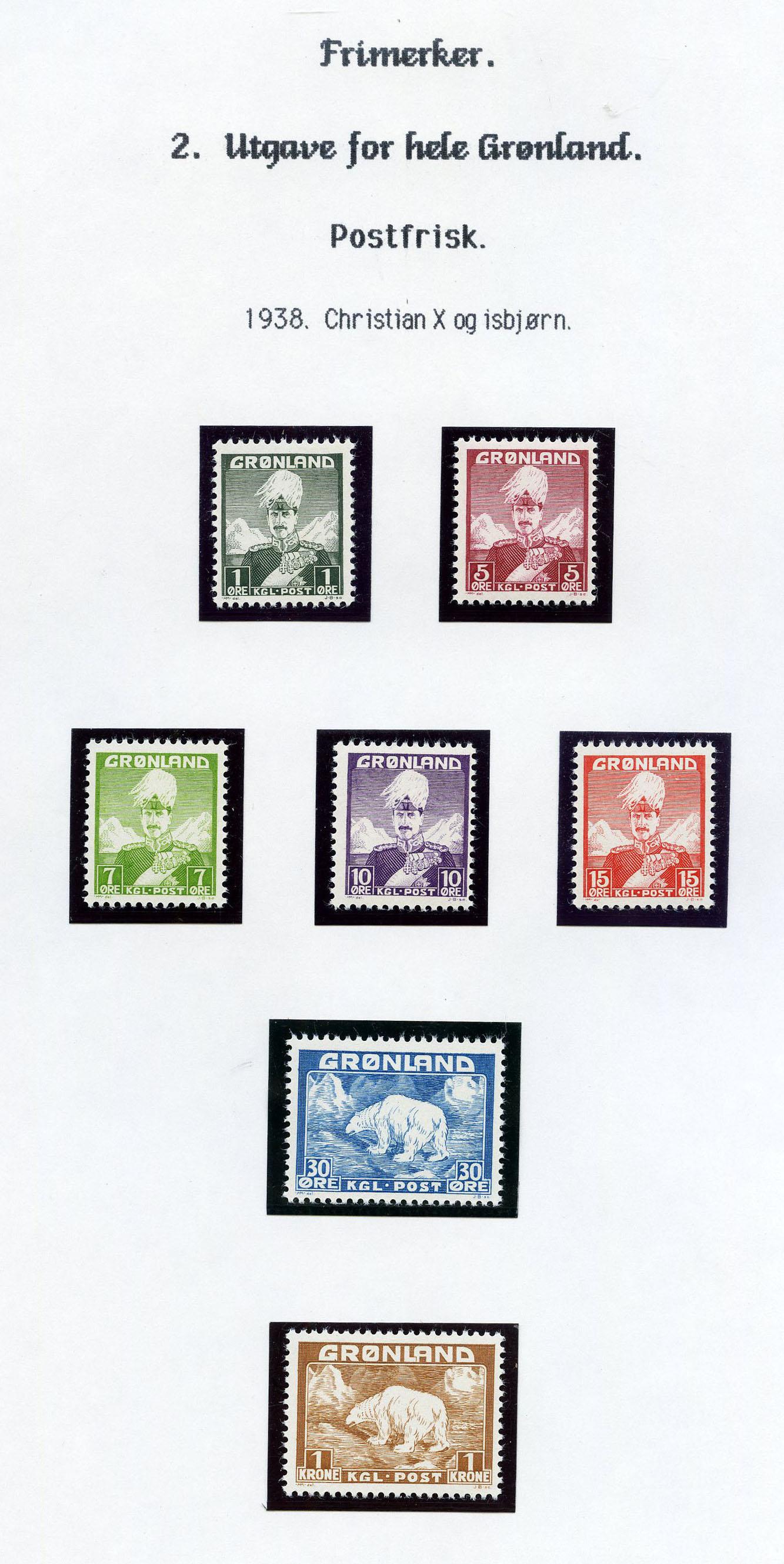 Lot 2000 - Grønland Samlinger og lotter  -  Skanfil Auksjoner AS  Public auction 211
