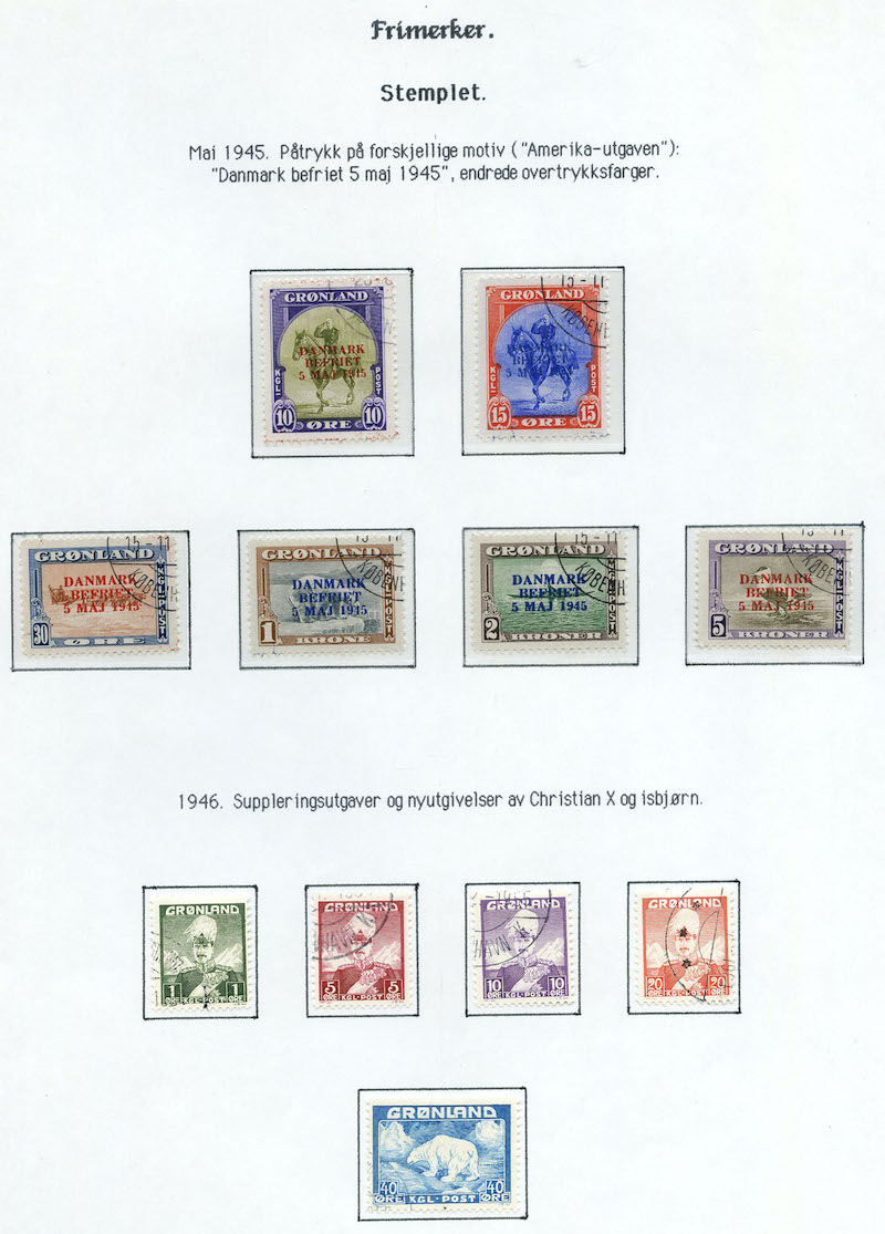 Lot 2002 - Grønland Samlinger og lotter  -  Skanfil Auksjoner AS  Public auction 211