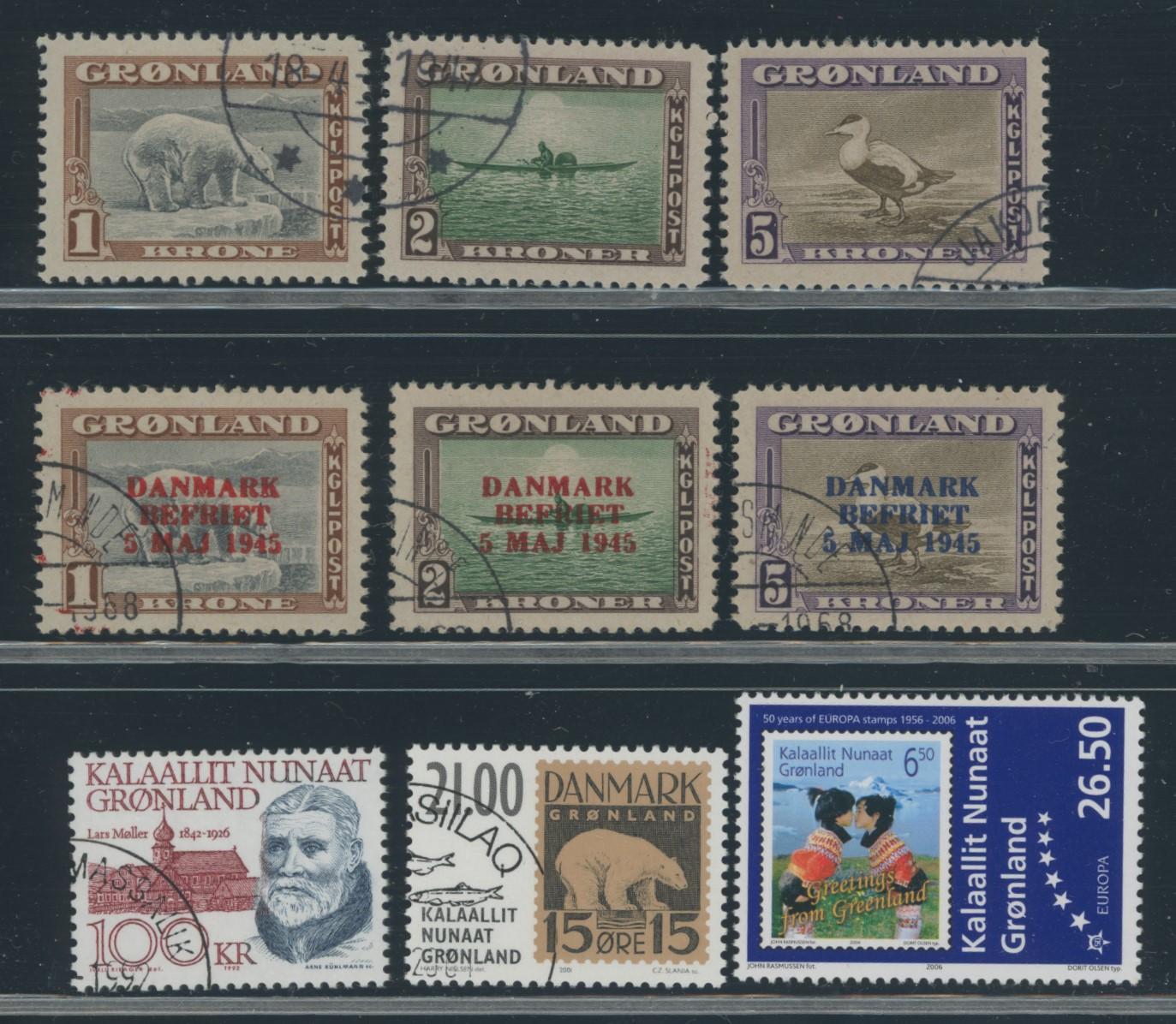 Lot 2003 - Grønland Samlinger og lotter  -  Skanfil Auksjoner AS  Public auction 211