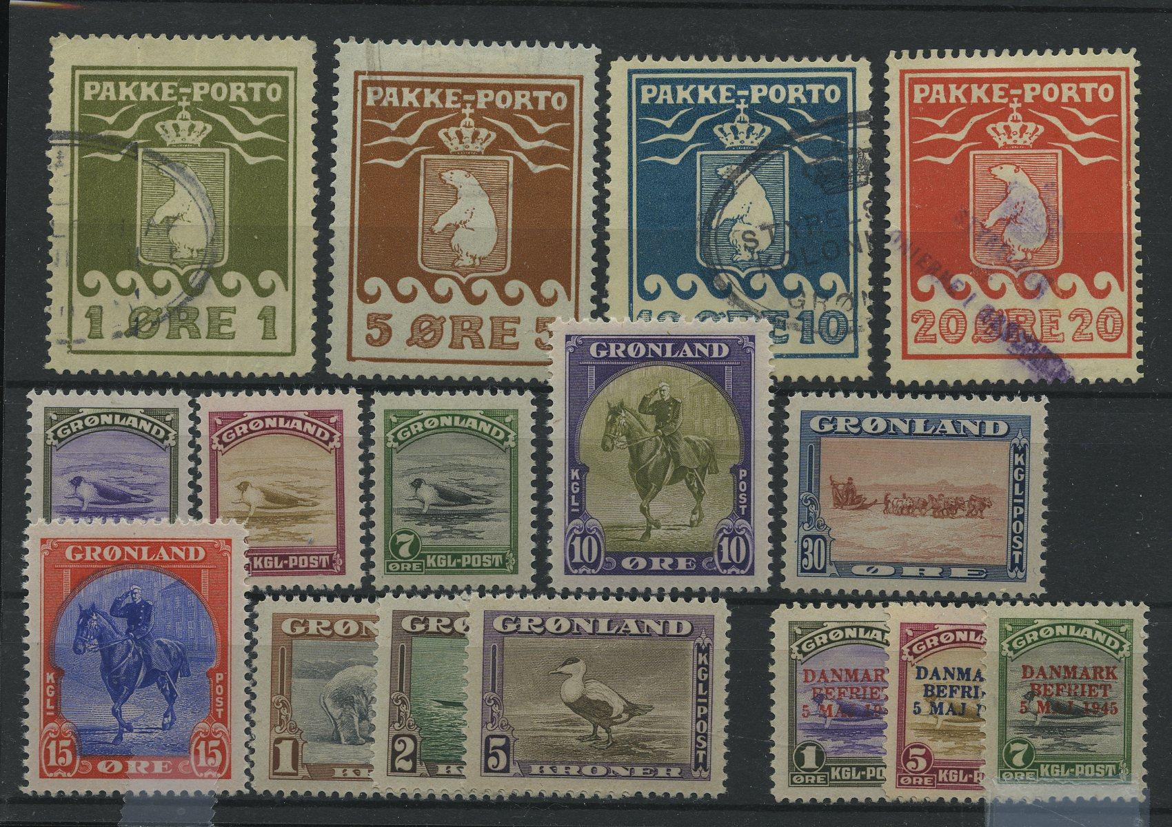 Lot 2006 - Grønland Samlinger og lotter  -  Skanfil Auksjoner AS  Public auction 211