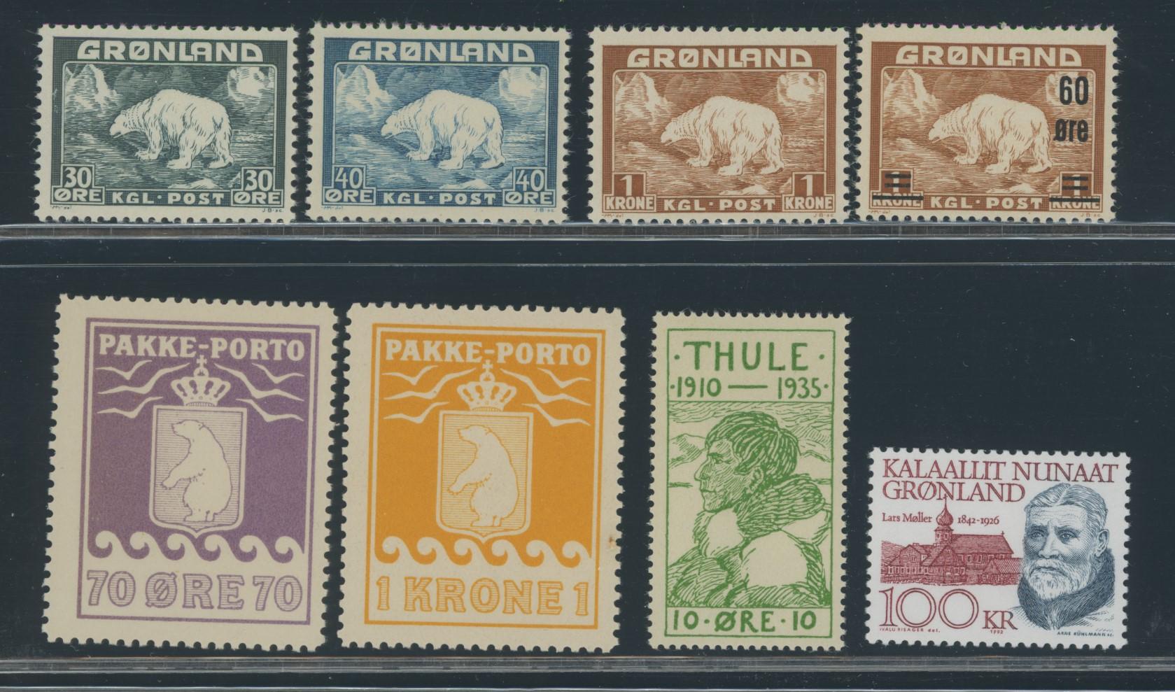 Lot 2009 - Grønland Samlinger og lotter  -  Skanfil Auksjoner AS  Public auction 211