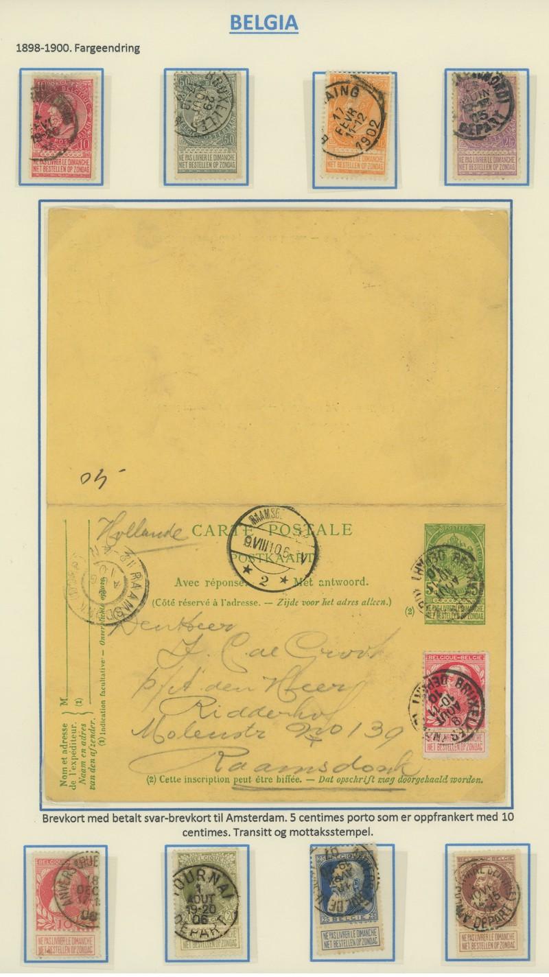 Lot 2264 - Belgia (Michel)  -  Skanfil Auksjoner AS  Public auction 211