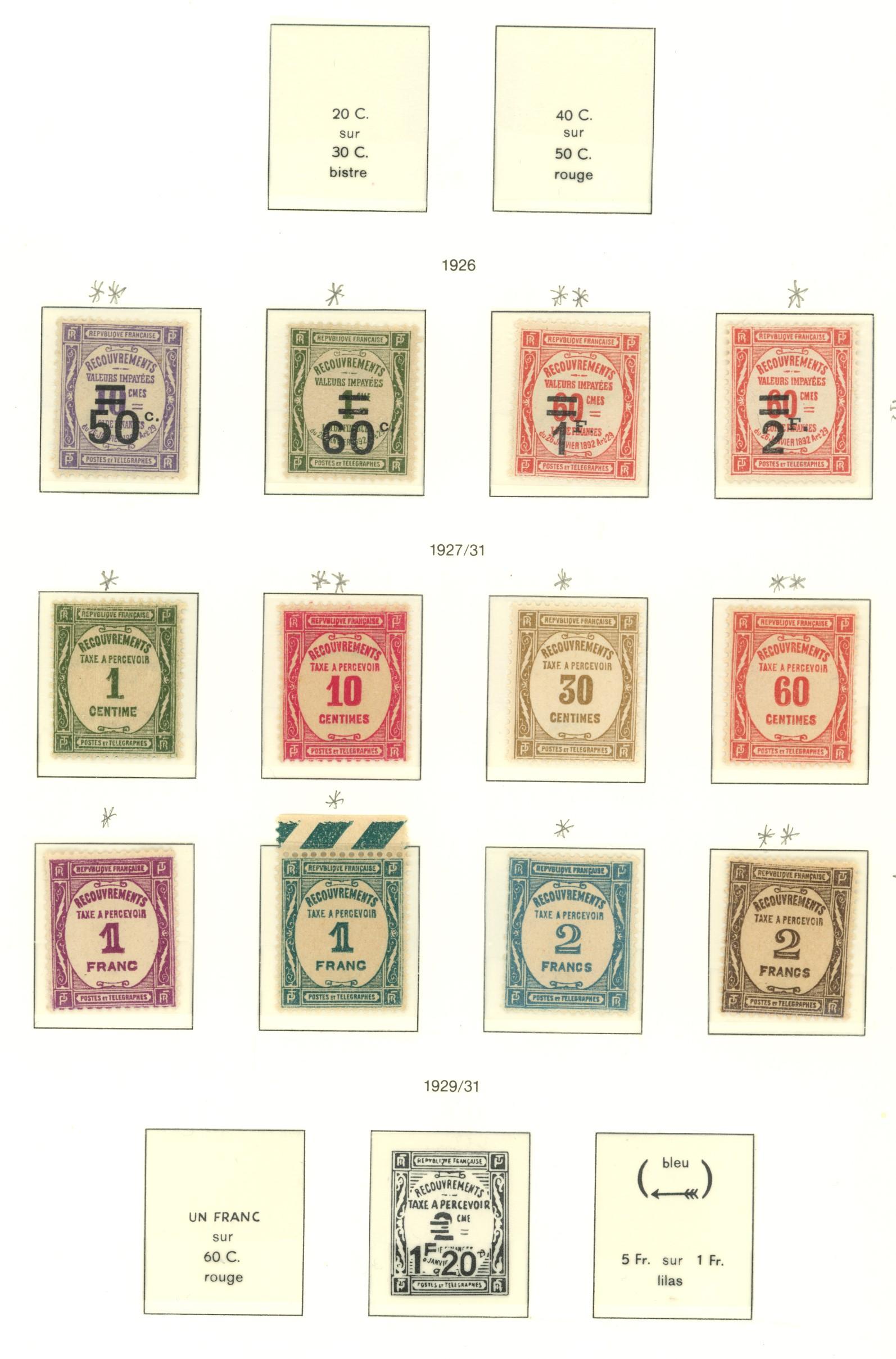 Lot 2301 - Frankrike samlinger/lotter (Michel)  -  Skanfil Auksjoner AS  Public auction 211