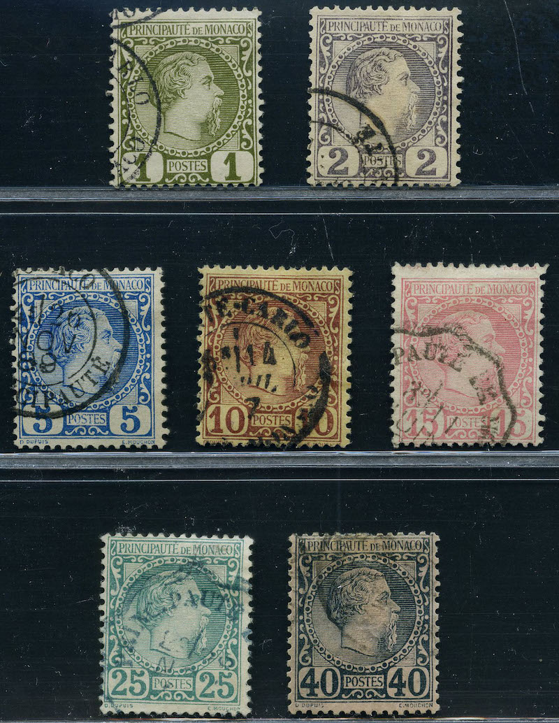 Lot 2342 - Monaco (Michel)  -  Skanfil Auksjoner AS  Public auction 211
