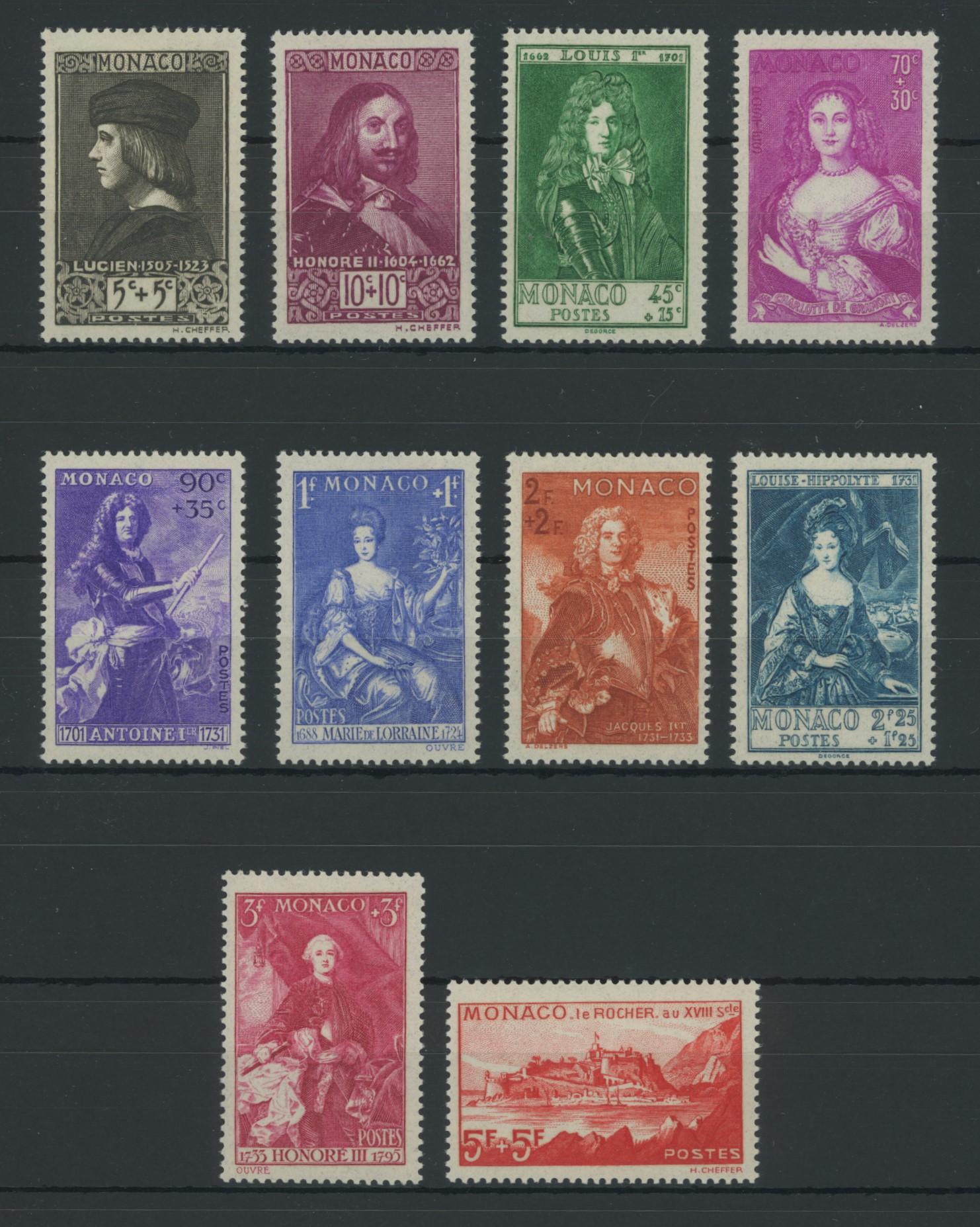Lot 2350 - Monaco (Michel)  -  Skanfil Auksjoner AS  Public auction 211