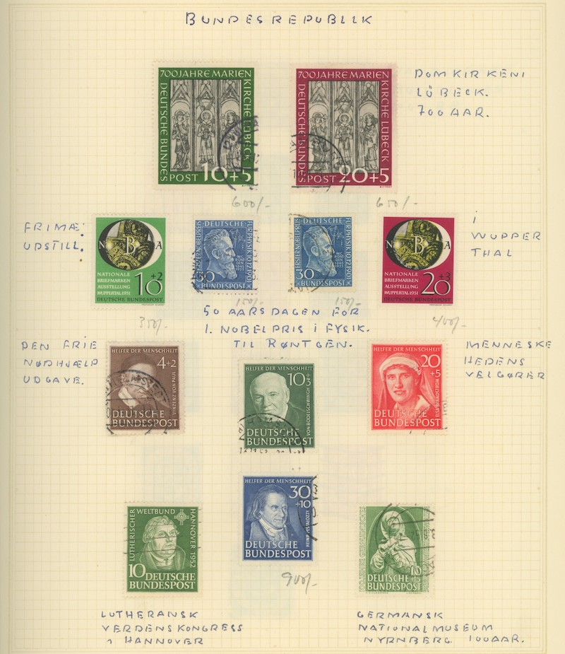 Lot 2465 - BRD (Michel)  -  Skanfil Auksjoner AS  Public auction 211