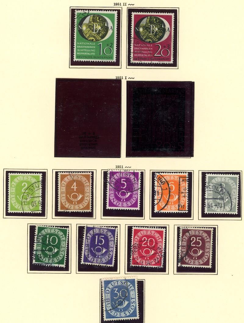 Lot 2468 - BRD (Michel)  -  Skanfil Auksjoner AS  Public auction 211
