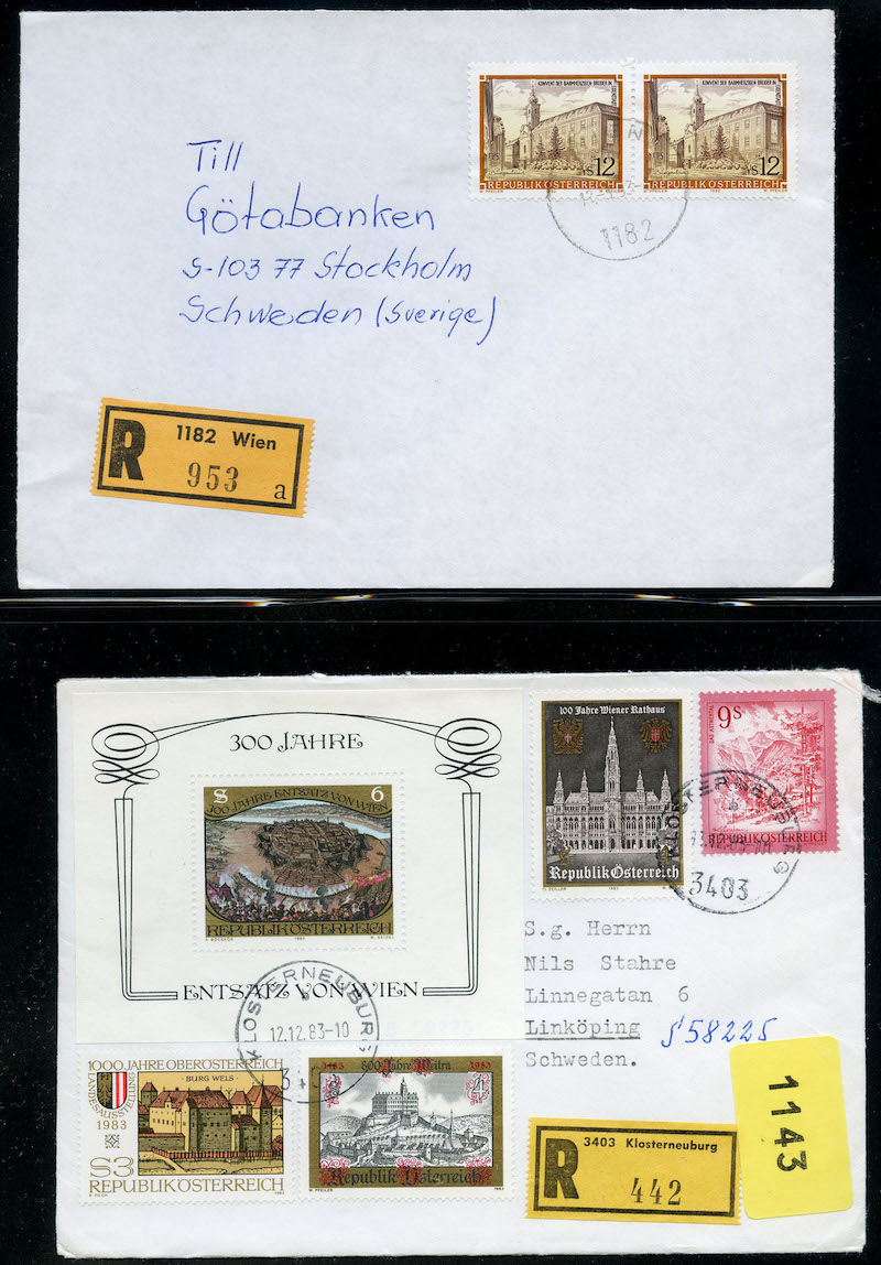 Lot 2503 - Østerrike (Michel)  -  Skanfil Auksjoner AS  Public auction 211