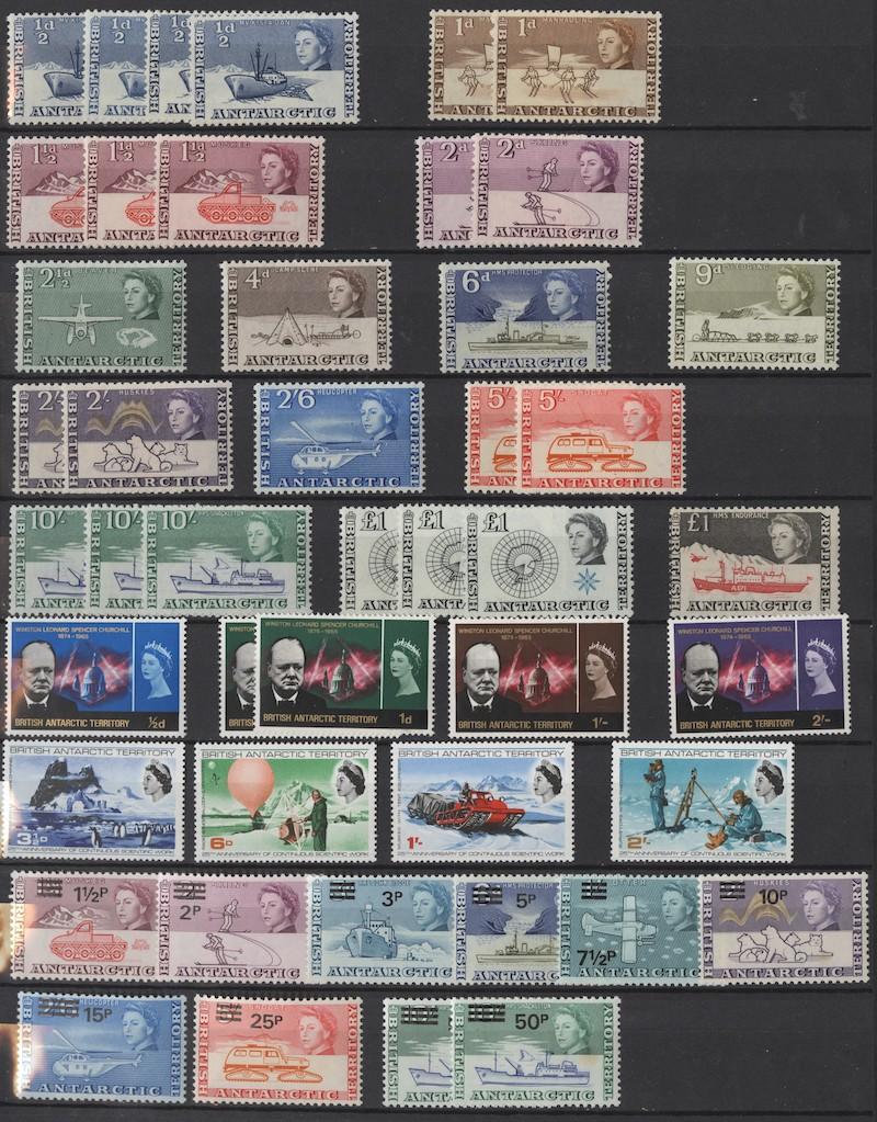 Lot 2638 - Falklandsøyene og øvrig britisk Antarktis  -  Skanfil Auksjoner AS  Public auction 211
