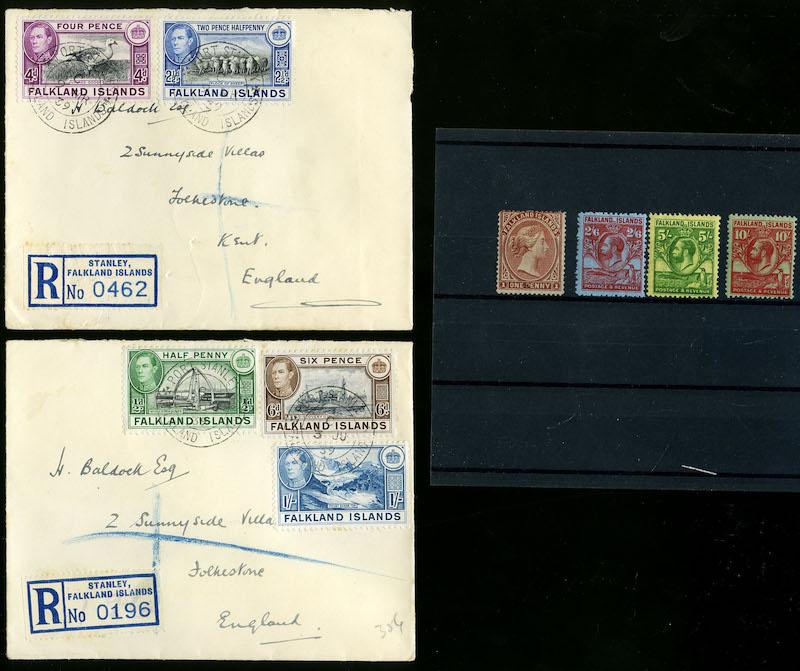 Lot 2639 - Falklandsøyene og øvrig britisk Antarktis  -  Skanfil Auksjoner AS  Public auction 211
