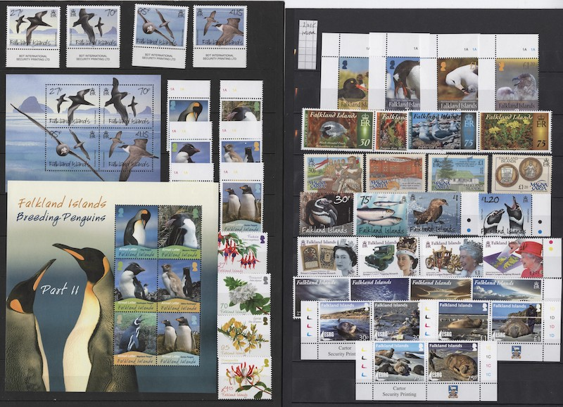 Lot 2640 - Falklandsøyene og øvrig britisk Antarktis  -  Skanfil Auksjoner AS  Public auction 211