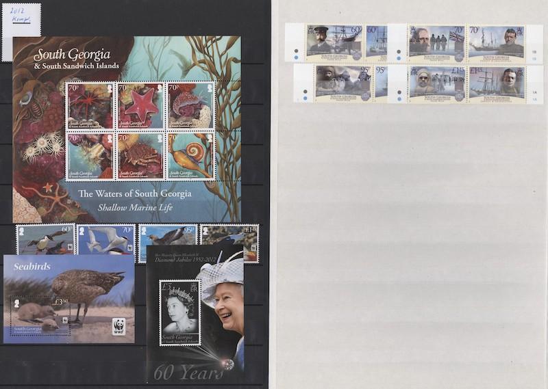 Lot 2641 - Falklandsøyene og øvrig britisk Antarktis  -  Skanfil Auksjoner AS  Public auction 211
