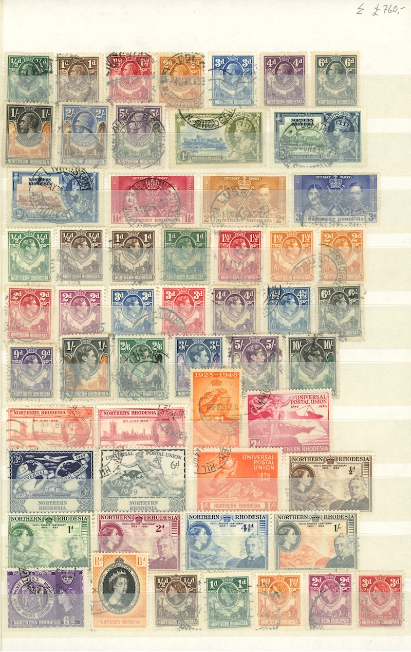 Lot 2685 - Brit. Kolonier - øvrige L-Z  -  Skanfil Auksjoner AS  Public auction 211