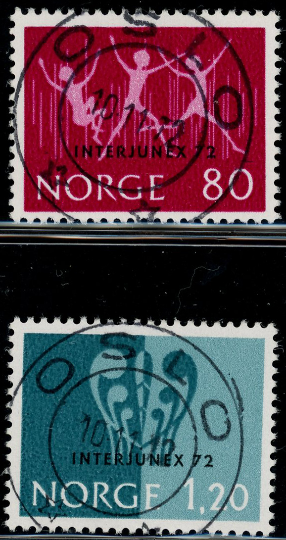 Lot 3606 - Pene stempler fra 1960  -  Skanfil Auksjoner AS  Public auction 211