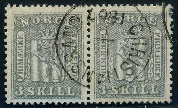 Lot 3793 - Skilling våpen 1863  -  Skanfil Auksjoner AS  Public auction 211
