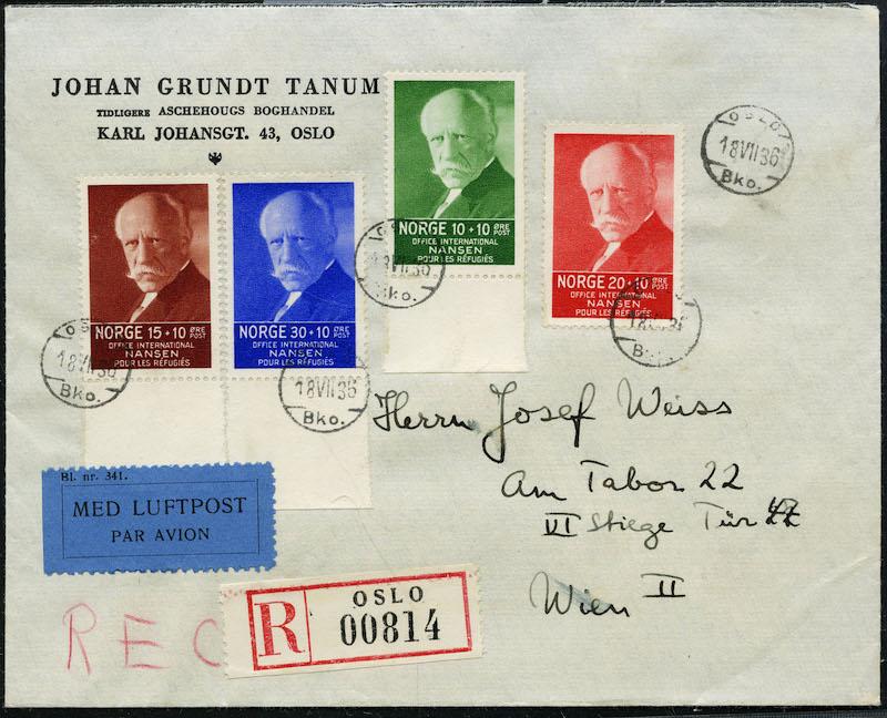 Lot 4192 - 1930-1939  -  Skanfil Auksjoner AS  Public auction 211