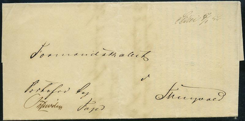 Lot 4293 - Frimerkeløse brev etter 1855  -  Skanfil Auksjoner AS  Public auction 211
