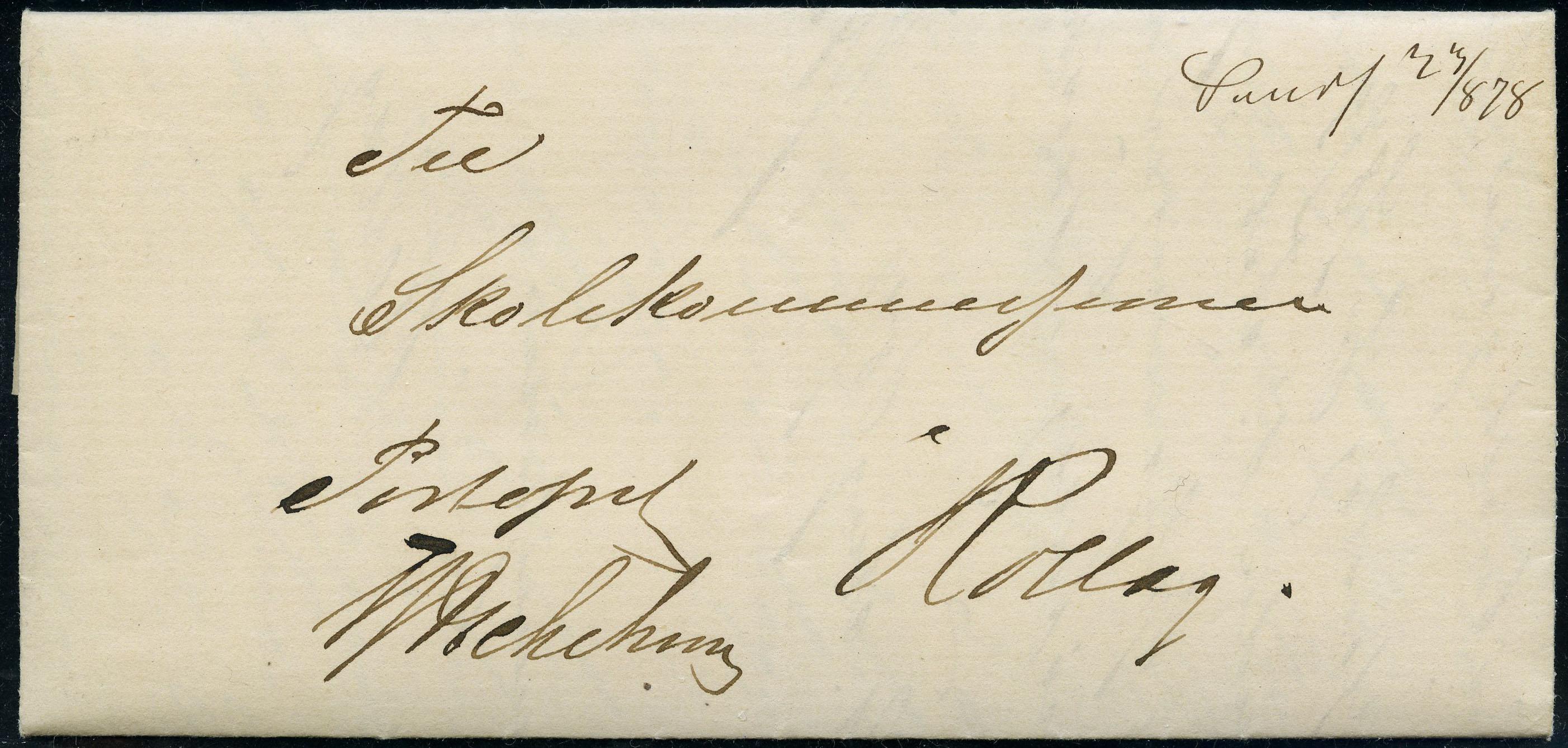 Lot 4624 - Håndskrevne annulleringer  -  Skanfil Auksjoner AS  Public auction 211