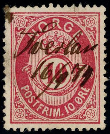 Lot 4627 - Håndskrevne annulleringer  -  Skanfil Auksjoner AS  Public auction 211