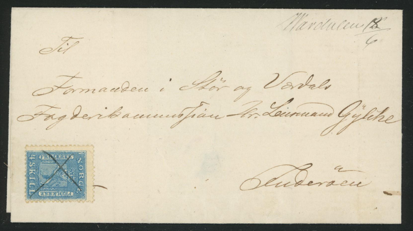 Lot 4628 - Håndskrevne annulleringer  -  Skanfil Auksjoner AS  Public auction 211