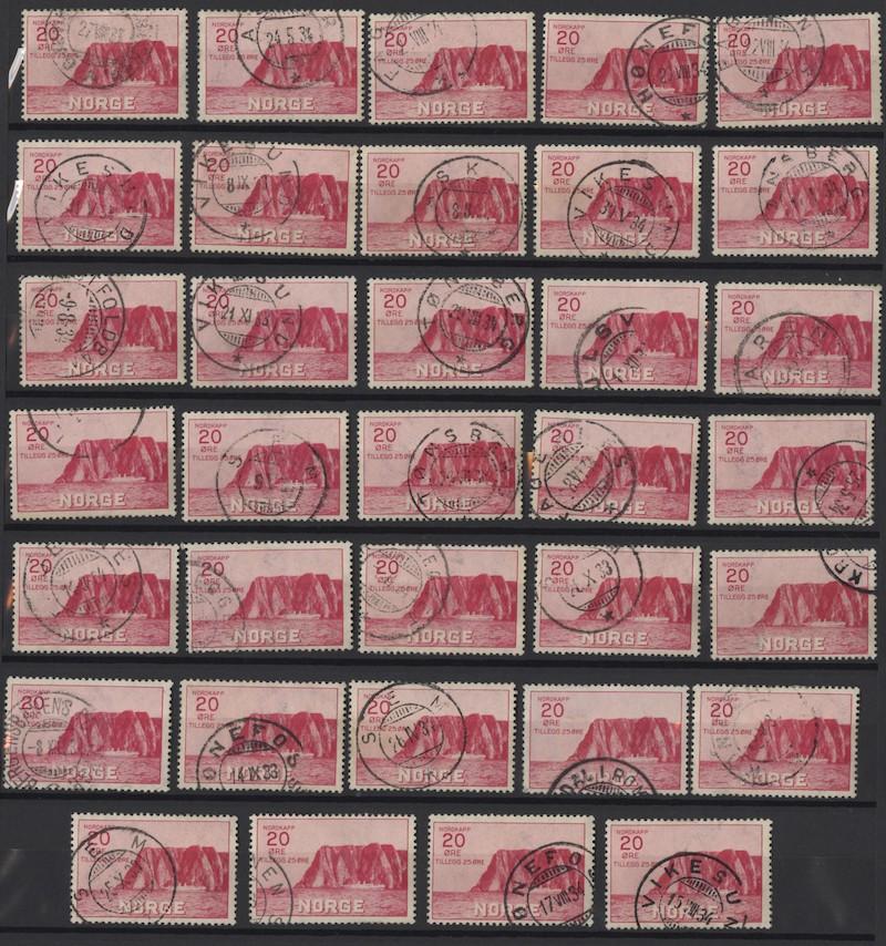 Lot 4670 - Engrosposter NK-nummer  -  Skanfil Auksjoner AS  Public auction 211