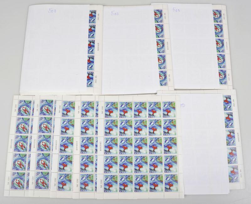Lot 4676 - Engrosposter NK-nummer  -  Skanfil Auksjoner AS  Public auction 211