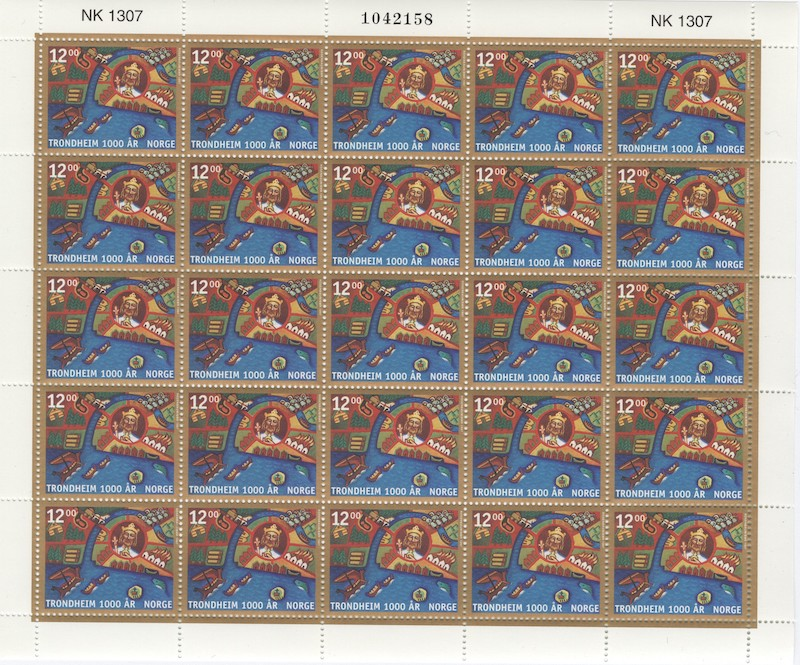 Lot 4677 - Engrosposter NK-nummer  -  Skanfil Auksjoner AS  Public auction 211