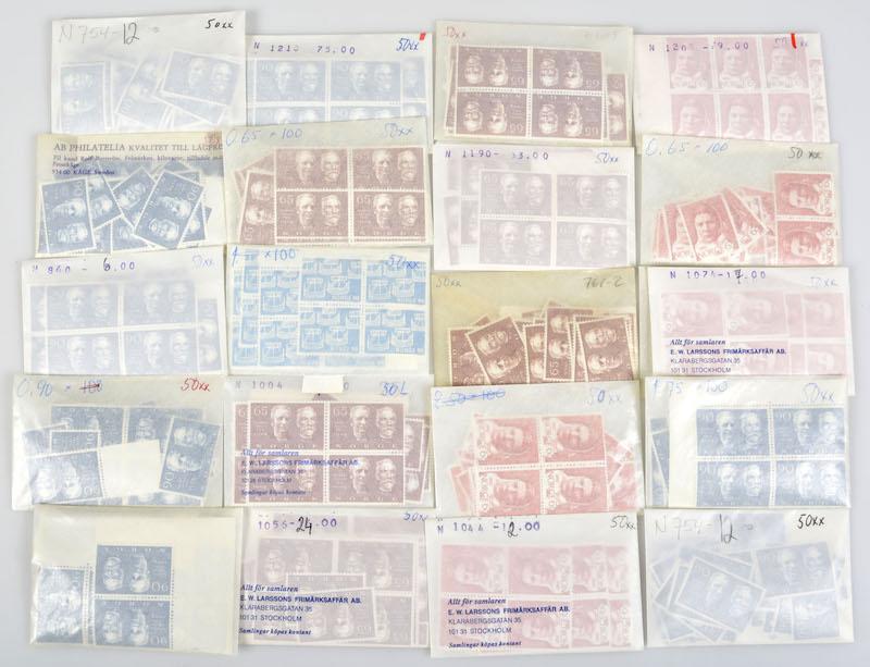 Lot 4678 - Engrosposter samlinger og lotter  -  Skanfil Auksjoner AS  Public auction 211