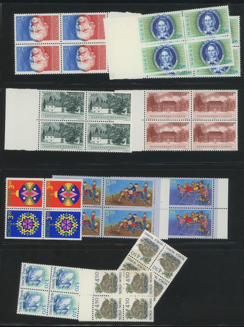 Lot 4690 - Pålydende/portolotter  -  Skanfil Auksjoner AS  Public auction 211