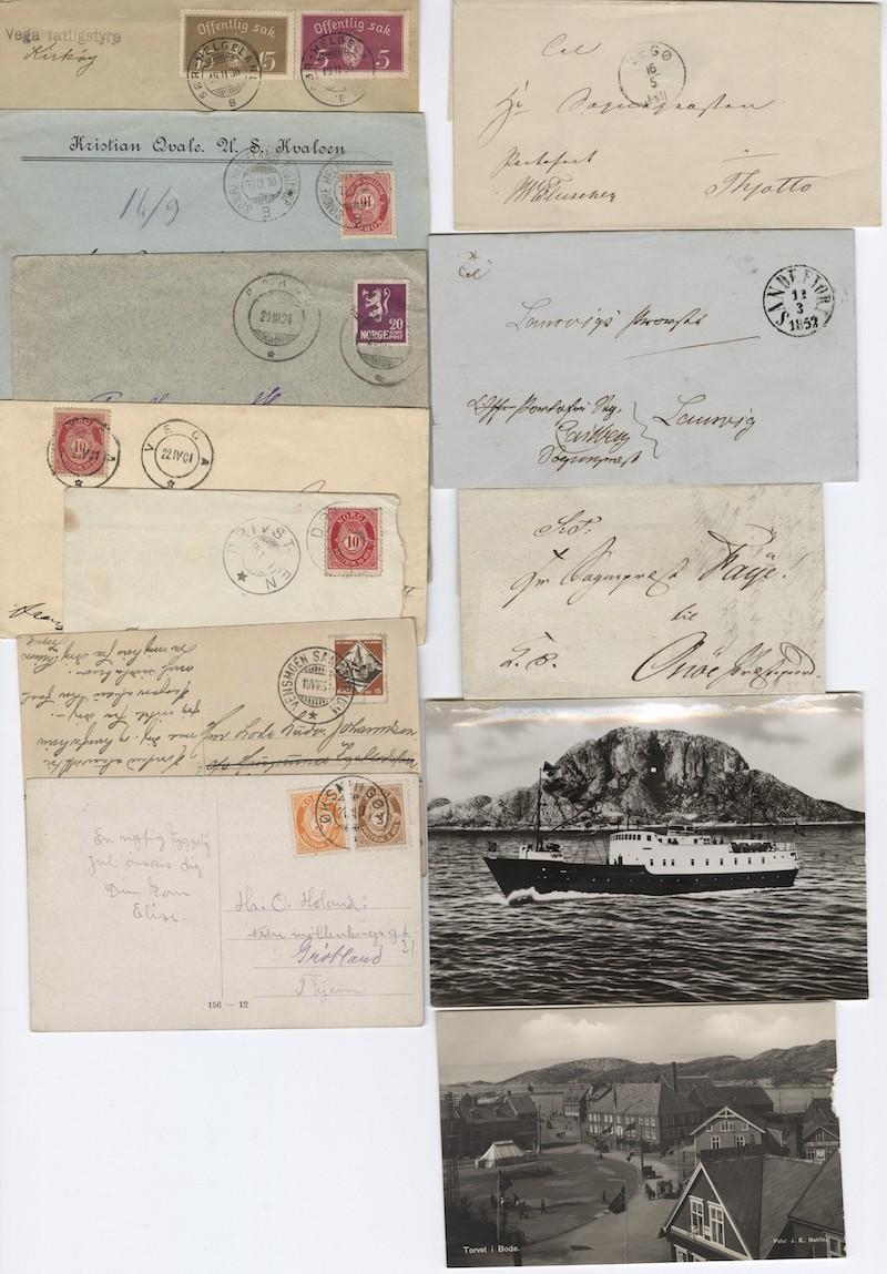 Lot 4717 - Brevlotter  -  Skanfil Auksjoner AS  Public auction 211