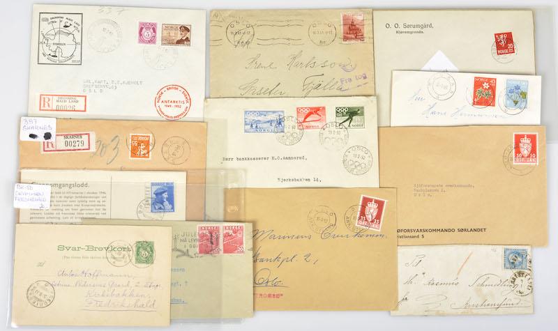 Lot 4719 - Brevlotter  -  Skanfil Auksjoner AS  Public auction 211